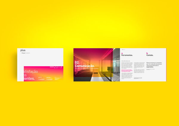 Plua® #diseo #white #branding #argentina #stationery #design #color #minimalism #black #pure #corporate #brand #identity #buenos #and #logo #helvetica #aires