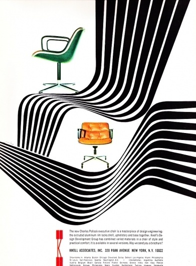 All sizes   1966 Knoll Ad   Flickr - Photo Sharing! #1966 #ad #knoll