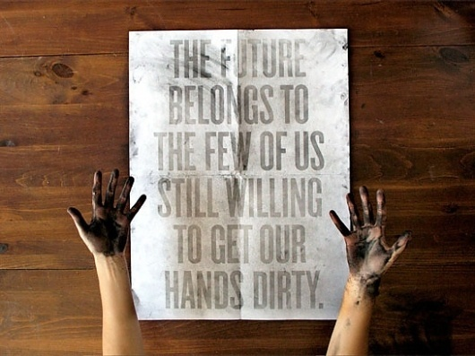 Changethethought™ | Roland Tiangco #roland #design #graphic #tiangco #smear #poster #dirt