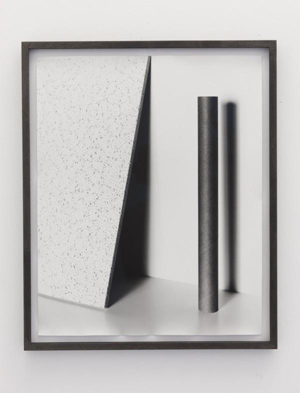 Talia Chetrit Tube, Triangle, 2001 framed photograph #abstract #photograph #b&w