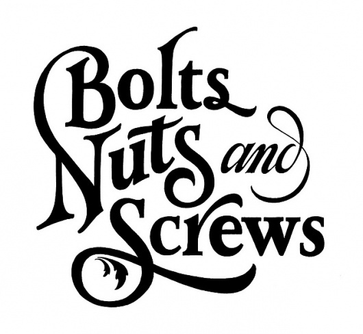 Carhartt SS 2011 - Bolts Nuts and Screws | Flickr - Photo Sharing! #typography
