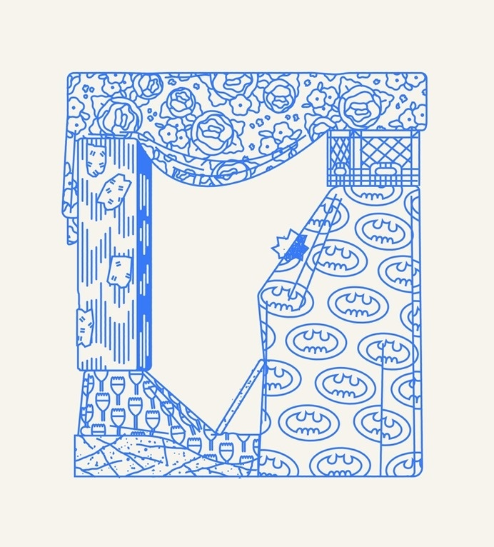 Damien Correll Your Mom's Basement (viadamiencorrell) #illustration