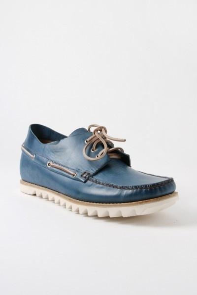 Blue Shoe #blue #shoe #white #apparel