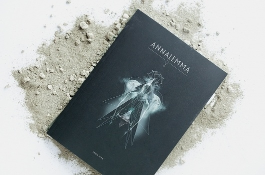 YASLY / SELECTED WORKS (2004 - 2011) / Annalemma Magazine: Dawn Of Man #print #book #geometric #cover #shape