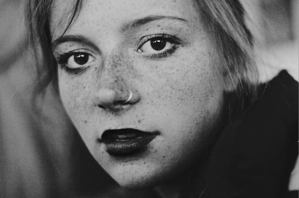 by bonnieroser eyes #face #portrait #bw