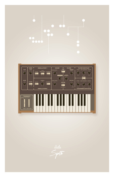 Moog Prodigy #synth #scifi #design #moog