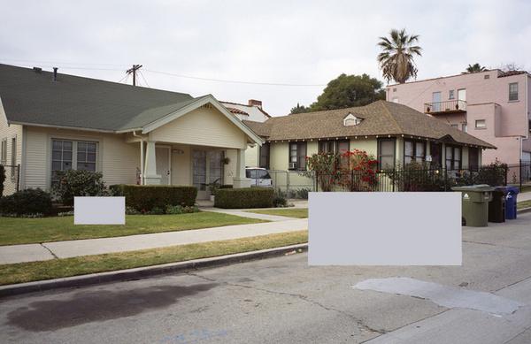 lastreet.jpg 1000×648 pixels #rectangle #frame #house