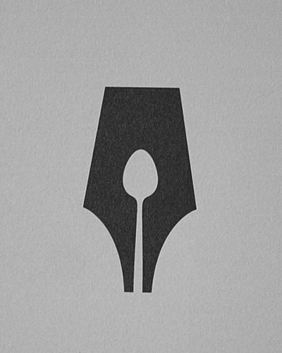 mattmcinerney: 15+ Amazingly clever logos. The Guild of Food Writers logo is probably my favorite included in the list. Clever indeed. picture on Visu #guild #of #guils #food #nib #writers #pen #logo
