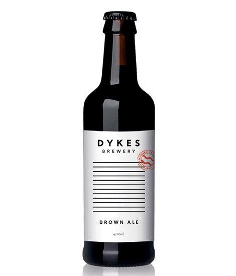 Dykes Brewery Bottle #packaging #beer