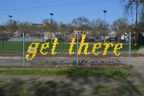 Typography Fence Art by Lambchop #typography