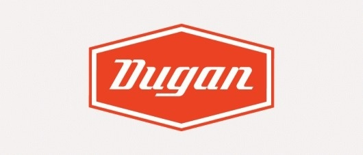 Dugan Custom Hot Rods :: Joseph Blalock Design Office #logo #hot rod #cars #custom type #dugan #oragne