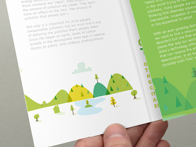 GrowEnergy.org events branding & illustration #branding #tree #event #flyer #illustration #identity #energy #green