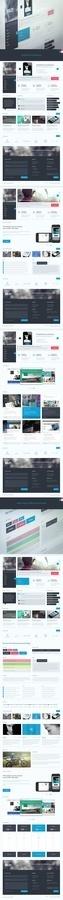 Web Design / Riley #website