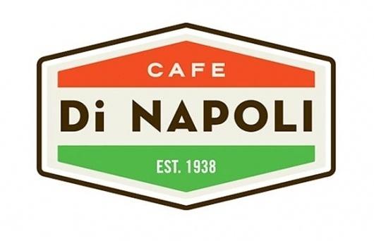 Cafe Di Napoli | gregoryhubacek.com #logo #design #identity