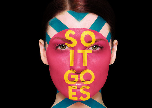 Typeworks #110 - Aizone Type Face Paint