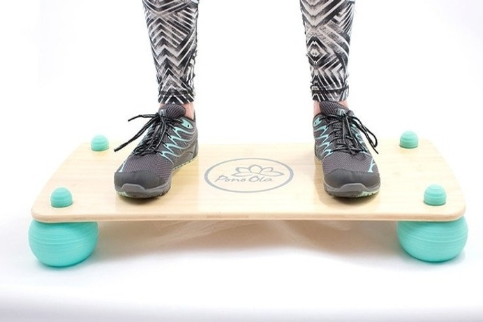 Pono Board: Fitness Motion Balance Board - IPPINKA The Pono Board, created by Pono Ola, helps you balance your body, mind, and life- succes