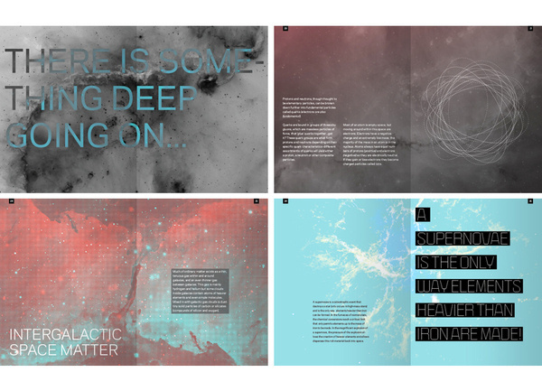 We, the Universe on Behance #print #collateral #typography