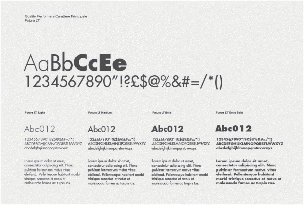 Quality Performers #branding #typography