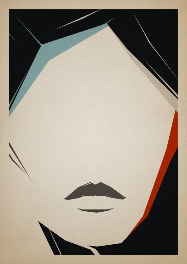 Alexey Malina – 5 Girls | bumbumbum #abstract #illustration #portrait