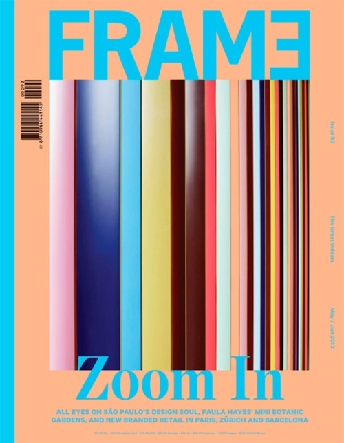 Frame (Amsterdam, Pays-Bas / Netherlands) #design #graphic #color #cover #editorial #magazine