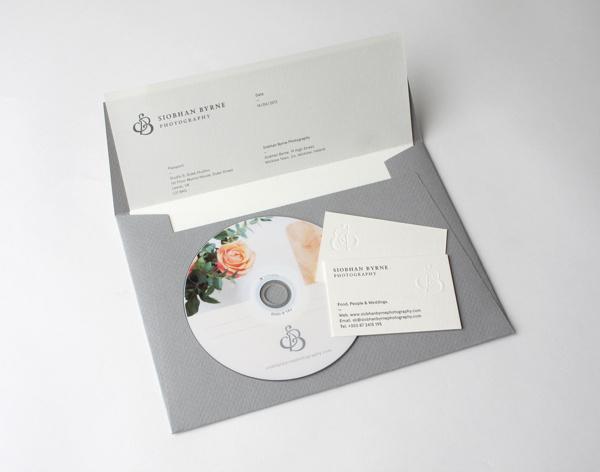 Siobhan Byrne #emboss #business #branding #packaging #classic #identity #envelope #disc #passport #cards