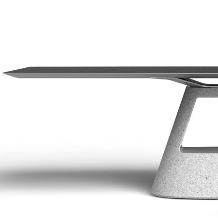 Dezeen » Blog Archive » Table B by Konstantin Grcic for BD Barcelona Design #design #table
