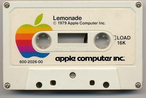 Lemonadethis isn't happiness.™ #apple #tape #cassette #lemonade