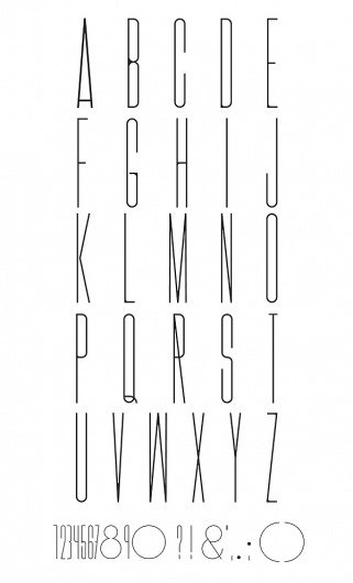 FINA TYPE on the Behance Network