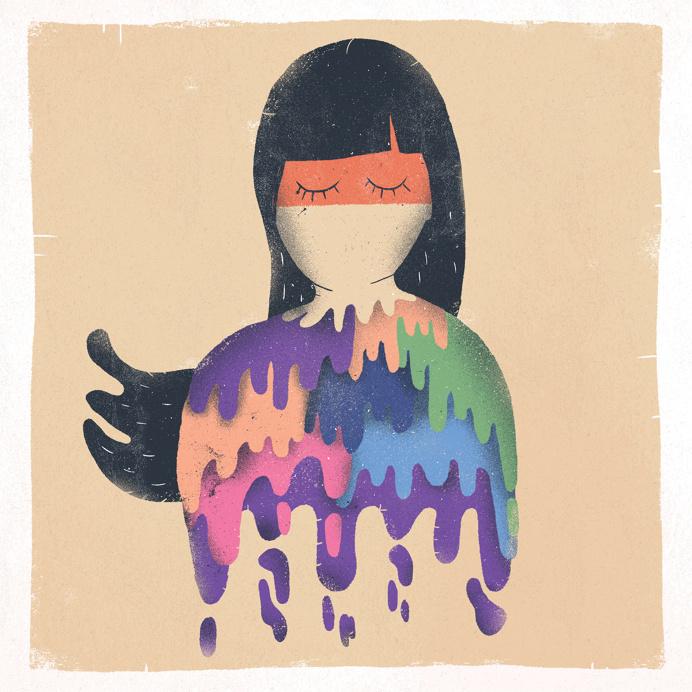 #illustration #girl #colourful