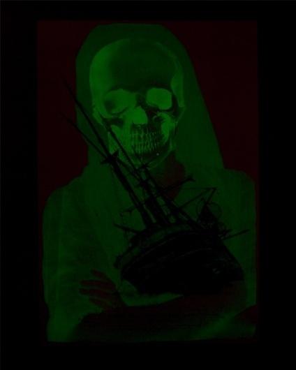 Erik Anthony Hamline #in #screenprint #the #glow #erik #dark #hamline