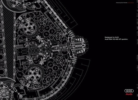 Audi ad » adverbox #advertisment #saudi