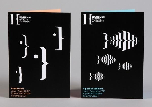 hat-trick design: horniman museum and gardens identity #print #identity