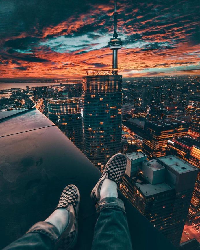 Fantastic Rooftop Photography by Yeshi Kangrang