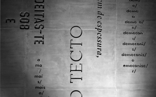 Casa do Conto by R2 | Type for you. #type #form #concrete #typography