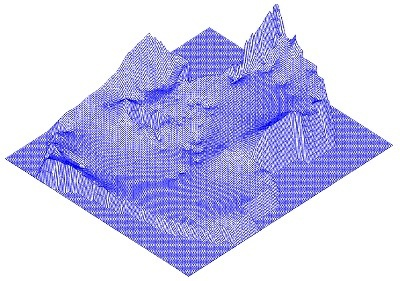 lll. MATHEMATICAL MODEL OF HYDROGEOLOGICAL CONDITIONS OF EASTERN PRIARALYE #math #model #grid #surface #3d