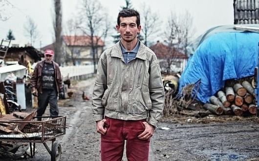 Bosnian Gypsies by Bojan Janjic | Definitive Touch #photography #portrait