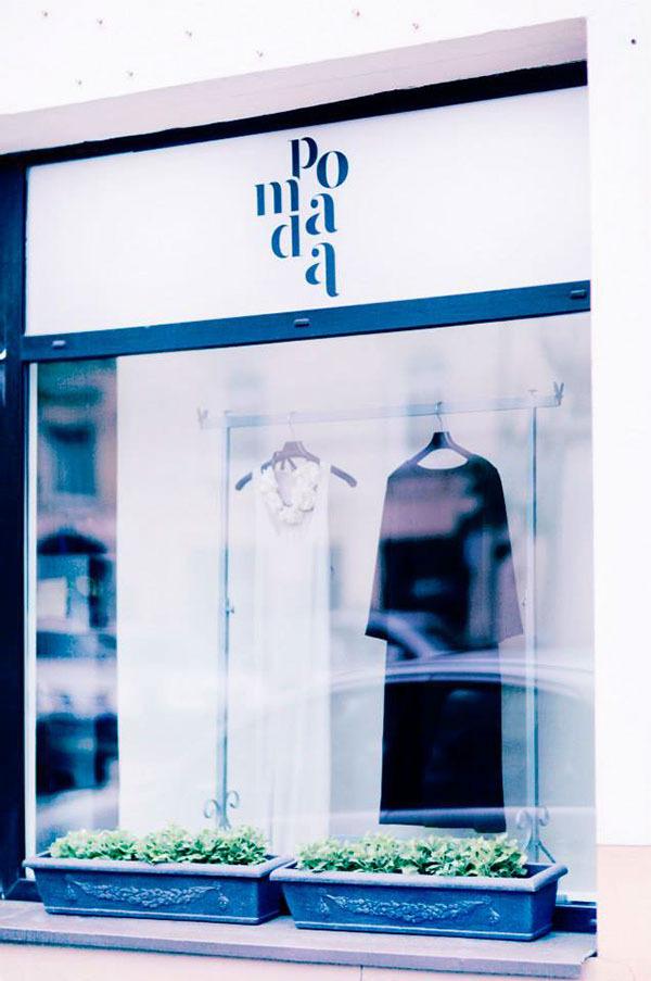 Pomada on Behance #fashion logo
