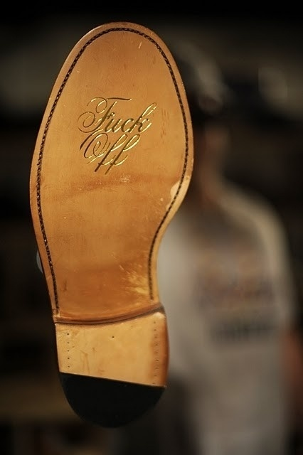 The Fuck Off Shoe Collection by Mark McNairy #shoe