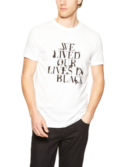 Black Apple #apple #water #tshirt #black #type