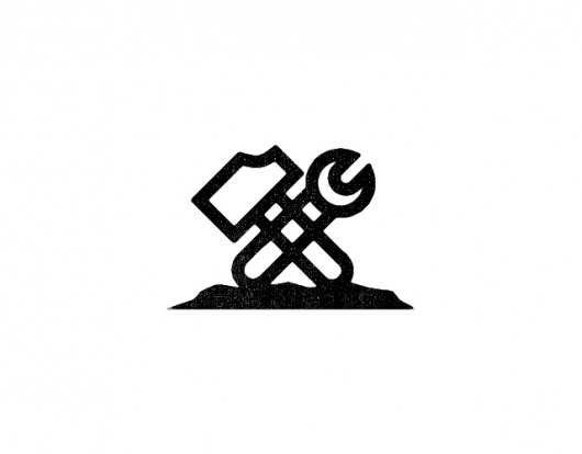 Tim Boelaars #branding #icon #illustration #hammer #logo