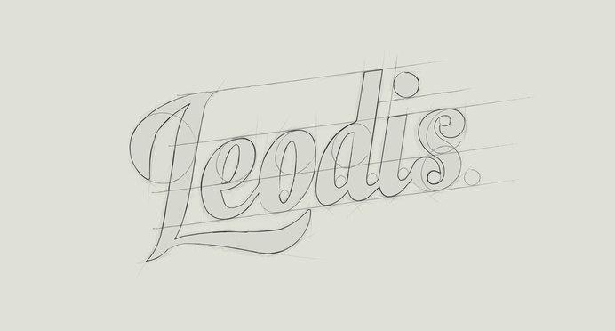 leodis logo construction #mark #logo #identity