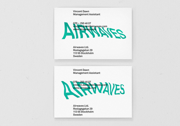 Henrik Stelzer #card #business #stationery