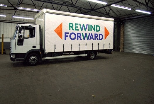 PUMA Rewind/Forward - Inventory Studio #truck #letters #inventory #forms #design #geometric #letter