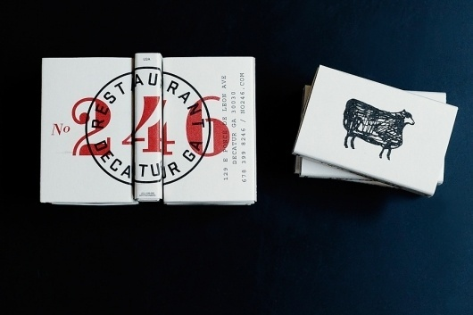 Graphic-ExchanGE - a selection of graphic projects #numbers #logo #illustration #restaurant