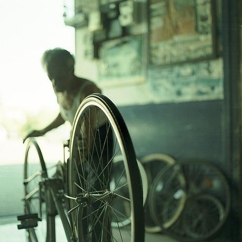 ..... #wheels #bicycle #photo #workshop #bike