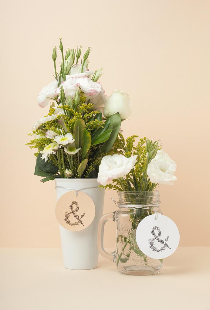 Vega & Vega by Menta . #mark #nature #flowers #logo #label