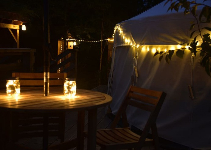Yurts in Scotland - Croft Number 3 - Luxury Yurt