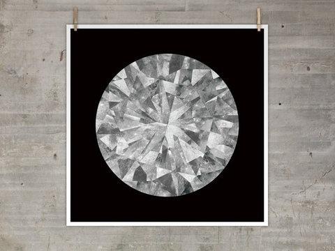 The Best Part | Moon Diamond Print #print #moon