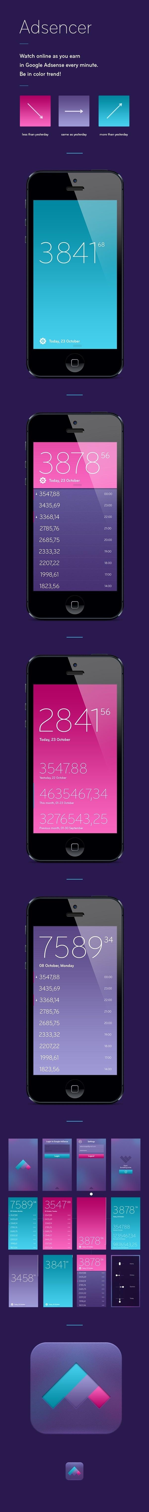 Adsenser #iphone #ux #ui