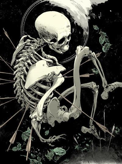 supersonic electronic / art #skeleton
